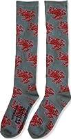 Twilight Saga Eclipse Red Cullen Lion Pair of Socks