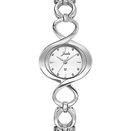 Joalia 633254 - Orologio da polso donna, metallo, colore: argento