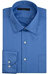 Geoffrey Beene Men's Fitted Sateen Dress Shirt