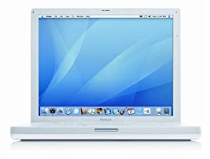 "Apple iBook Laptop 14.1"" M9848LL/A (1.42 GHz PowerPC G4, 512 MB DDR SDRAM, 60 GB Hard Drive, SuperDrive)"