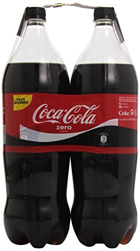 Coca-Cola - Zero, Botella de Plástico 4 litros - Pack de 3 (Total 12000 ml)