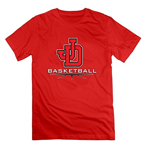 Girls Basketball Painting Men Styling Short-sleeve - X-large - Electric Red