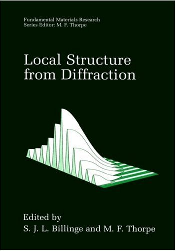Local Structure From Diffraction (Fundamental Materials Research)
