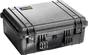 Pelican 1550 Case with Foam for Camera (Black)