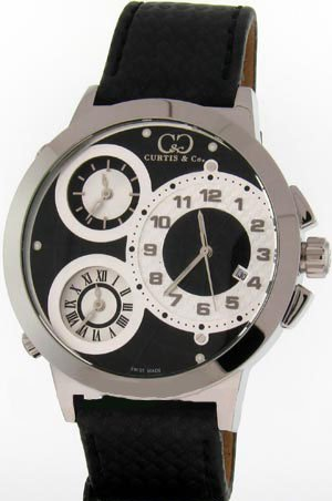 CURTIS & Co. Timepieces W50BK-S