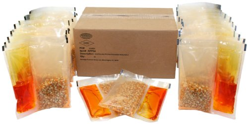 Nostalgia Electrics KPP-24 24-count Popcorn- Oil & Seasoning Kit