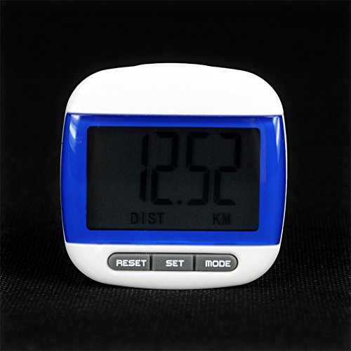 Haptime Digital Running Pedometer Watch Step Counter Large Lcd Display Us
