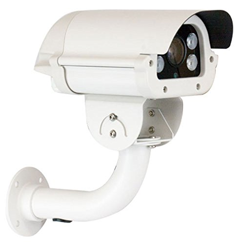 Gw Security Inc Vd809H 1/3-Inch Color Sony Cmos Outdoor Camera, 1000 Tv Lines, 5 To 50Mm Lens, 4 Pieces 850Nm Ir-Iii Array Led, 260-Feet Ir Distance