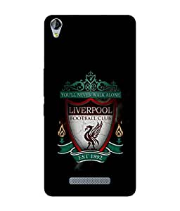 chnno Liverpool 3D Printed Back cover for Micromax Canvas Juice 3 Plus -Multicolor