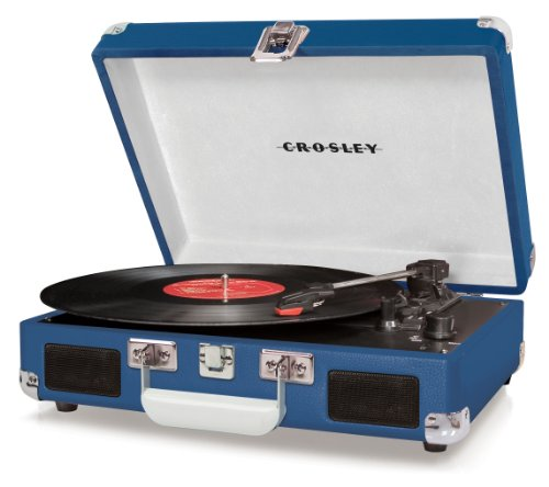 Why Should You Buy Crosley CR8005A-BL Cruiser Portable Turntable (Blue)