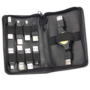9-Piece USB Adapters Kit with Case