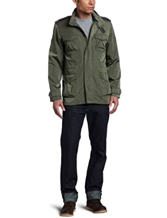 Alpha Industries Men's Siege Field Coat, Olive Green, XXXL