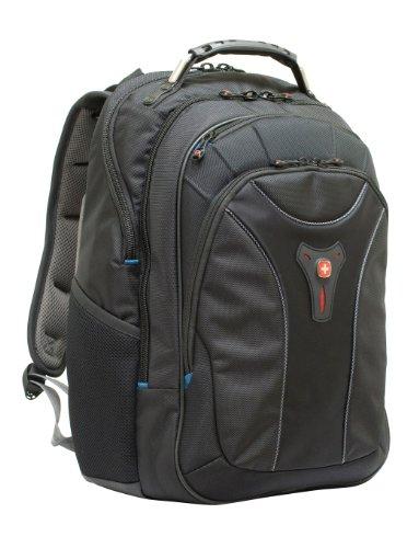 Wenger GA-7357-02 Carbon 17 Inch Mac Backpack - Black