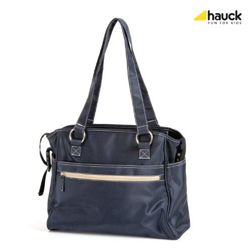 Hauck Sac à langer City, Bleu marine, 19 x 35 x 30 cm