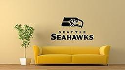 Seattle Seahawks NFL logo DECAL STICKER ARTGARAGE DECOR