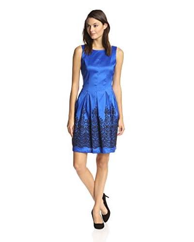Chetta B Women's Beaded Fit-and-Flare Dress