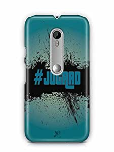 YuBingo Jugaad Designer Mobile Case Back Cover for Motorola G3 Turbo