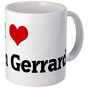 CafePress Unique Mug I Love Steven Gerrard Mug - S White from CafePress