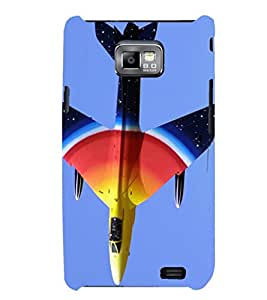 PRINTSHOPPII JET PLANE Back Case Cover for Samsung Galaxy S2::Samsung Galaxy S2 i9100