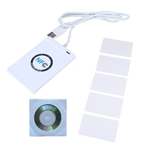 CycleMore NFC ACR122U RFID Contactless smart Reader & Writer/USB + SDK + 5PCS Mifare IC Card
