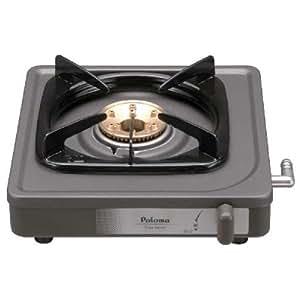Paloma(パロマ) 【乾電池を使用しないシンプル構造】1口コンロ プロパンガス用 PA-E18F LPG