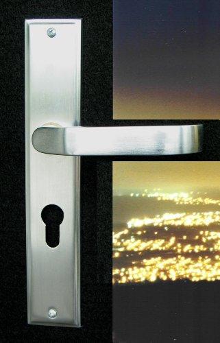Mortise Lock Entry Door Lockset With Deadbolt Plaza Lever Handle Door Hardware In Oil Rubbed Bronze Finish front-1017714