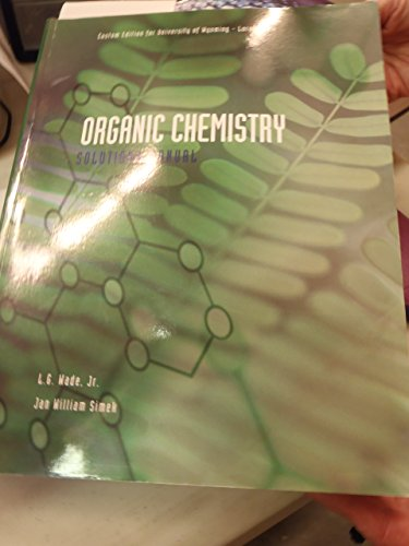 Lg wade organic chemistry 8th edition solutions manual