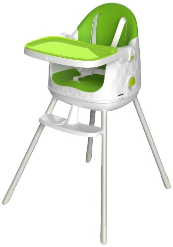 Keter Multi-Dine High Chair, Green front-60955