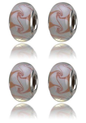 Imagen 4 de Balalabeads 4x - rea - Abalorio de mujer de metal y oro con vidrio