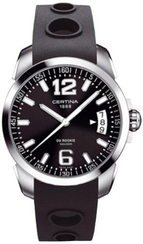 Certina Men's Watch XL Analogue Rubber Quartz C016,410,17,057,00