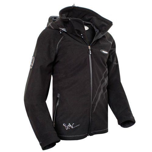 Halvarssons zip hoody black XS