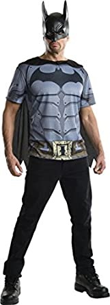 Batman Arkham Franchise Mens Costume Top