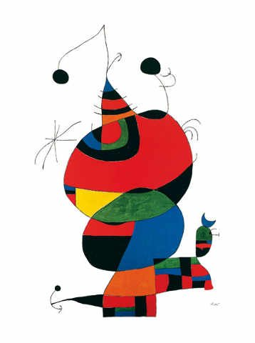 Joan Miro - Hommage à Picasso