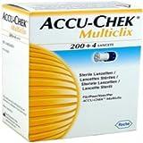 ACCU-CHEK Multiclix 200+4 STERILE LANCETS