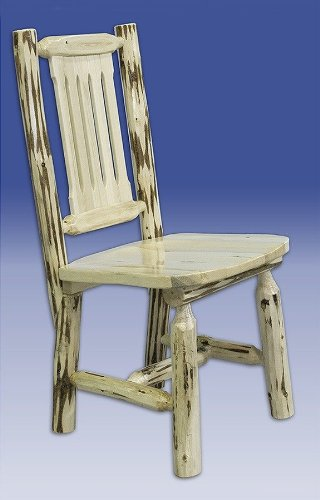 Log Furniture - Dining Chair - Free Shipping