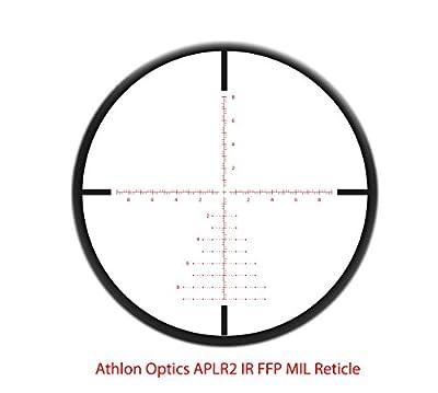 Athlon Optics , Talos BTR , Riflescope , 4-14 x 44 First Focal Plane (FFP) 30mm Tube, Illuminated APLR2 MIL Reticle , by Pro-Motion Distributing - Direct
