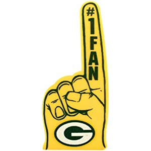 Amazon Com Green Bay Packers 1 Fan Foam Finger Office