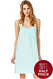 Secret Support™ Floral Print Chemise