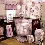 CoCaLo Sugar Plum 8 Piece Crib Bedding Set (Discontinued by Manufacturer)