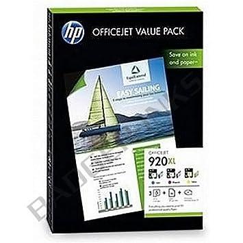 3 Cartouche d'encre pour Imprimante HP Officejet 7500A - Cyan / Magenta / Jaune- Avec Puce