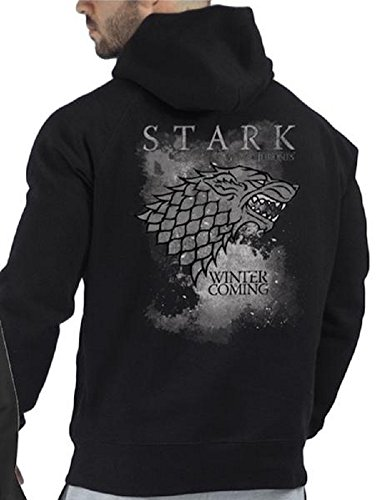 HBO's Game of Thrones Stark Winter is Coming Zip-up Hoodie