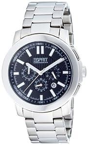 "Esprit Gents Watch ""Moon Glow"" Black Silver 4442423"