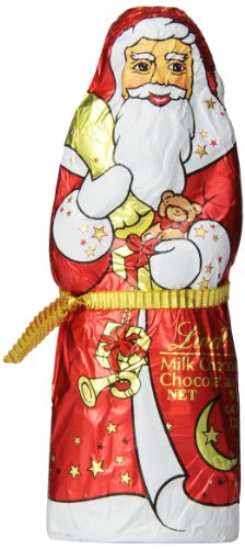 Lindt Milk Chocolate Santa Figure 4.4 Ounce (Pack of 18)