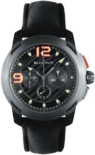 Blancpain L-Evolution Black Carbon Fiber Dial Titanium Automatic Mens Watch 8885F-1203-52B