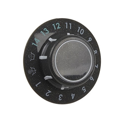 Qualtex Genuine Hotpoint Gukwashing Machine Graphite Wash Timer Knob Dial