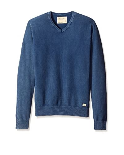 Color Siete Men's Garment-Dyed V-Neck