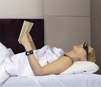 Novelty Lazy Reader Mirrored Reading Glasses TV Books Lying Down GREAT GIFT by zeenca [並行輸入品]