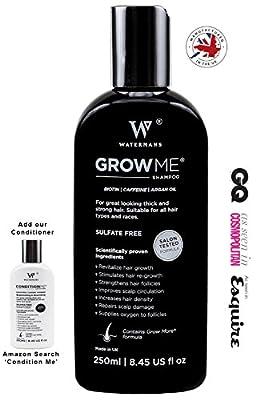 Best Hair Loss Shampoo, Caffeine, Biotin, Argan Oil, Allantoin, Rosemary. Stimulates Hair Re-growth, Helps Stop Hair Loss, Grow Hair Fast, Best Hair Growth Shampoo for Women and Men