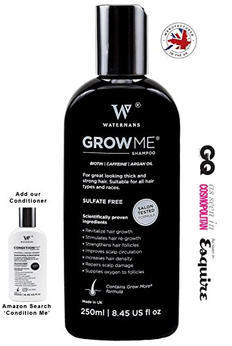 Best Hair Growth Shampoo Sulfate Free, Caffeine,