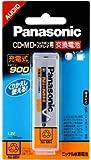 パナソニック 角形ニッケル水素電池 1本入り HHF-AZ09S/1B